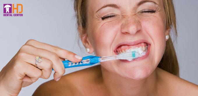 Cách chải răng niềng