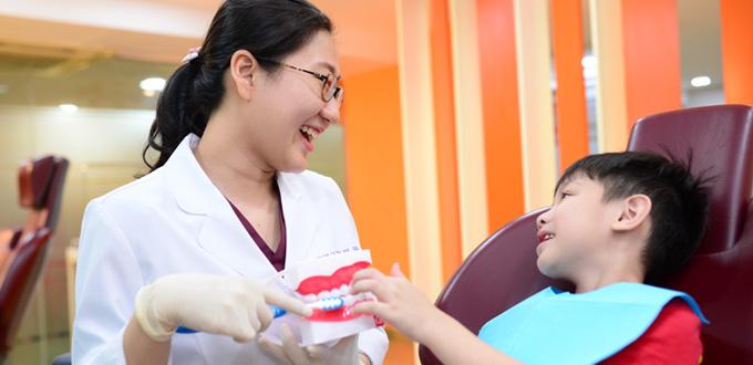 Nha khoa trẻ em tại nha khoa Dr Hùng