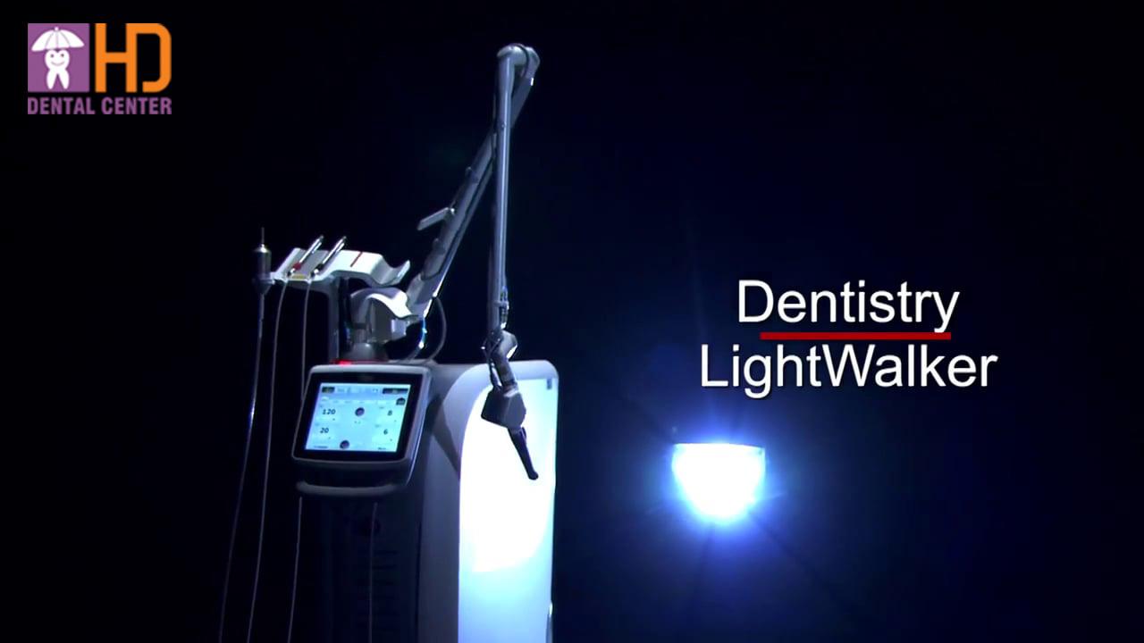 Máy Laser Nha Khoa Lightwalker 2017 với công nghệ Laser kép Twinlight.
