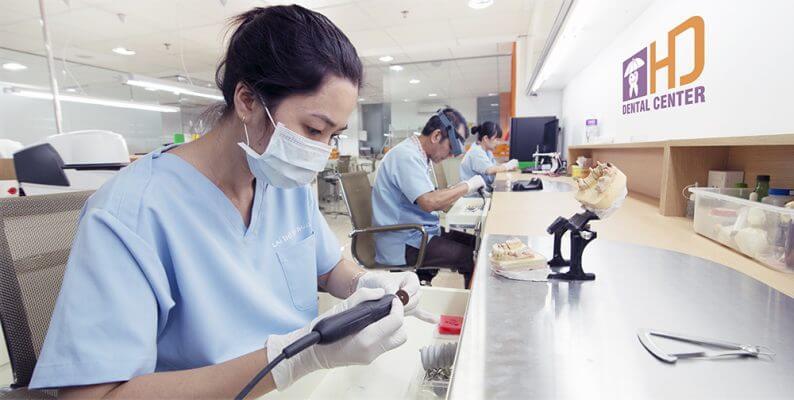 Vật liệu sứ sử dụng tại Lab In - House