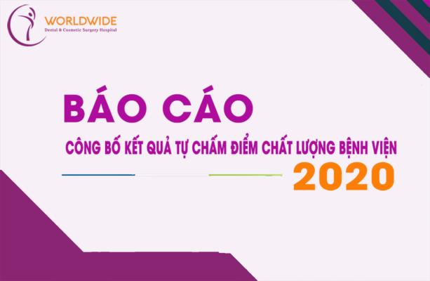 Thông báo kết quả tự chấm điểm chất lượng bệnh viện 2020