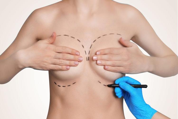 Vẽ dáng ngực thử