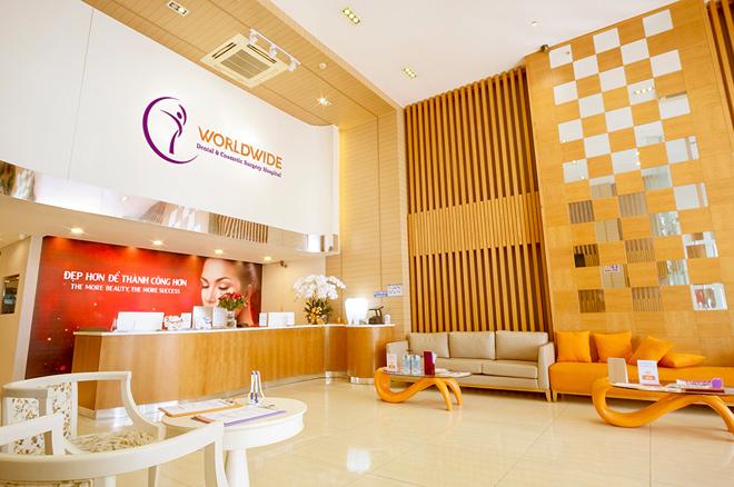 Bệnh viện thẩm mỹ Worldwide - địa chỉ thu gọn đầu mũi và cánh mũi uy tín