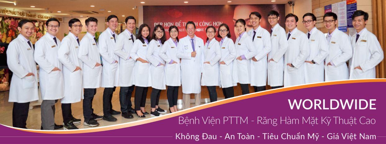 Bệnh viện Worldwide – Địa chỉ nâng mũi đẹp ở Sài Gòn